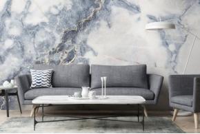 Обои под мрамор — универсальная текстура для интерьера
