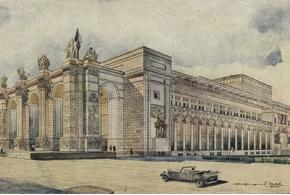 Доклады «История архитектуры как научная дисциплина» и «Архитектурная терминология». 1937