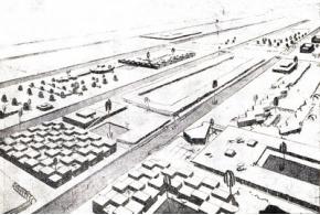 B. Калмыков, А. Гриншпун. Чарджуй. Конкурсный проект. 1931