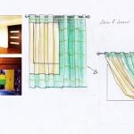 Эскиз дизайн окна в детской