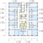 Архитектурное бюро MADE GROUP. Жилой комплекс «ECO Life Весна» на ул. К. Маркса в Ижевске. План 2-го этажа