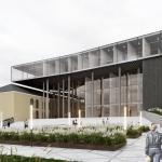 Конкурсный проект Культурного центра имени В. Г. Короленко в Ижевске. 1-е место. 2020. Архитектурное бюро Cubica / Кубика