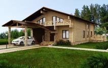 Дом деревянный. Проект дома.