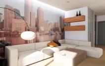 4-х комнатная. квартира в стиле хайтек.