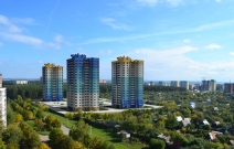 Жилой комплекс «Эдельвейс» на ул. Цветочная в Ижевске