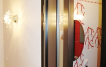 Квартира 3-комнатная. В современном минималистическом стиле.Коридор.