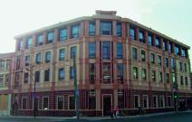 Офисный центр на ул. Московской, Казань. Площадь остекления: 390 м². Профильная система «Татпроф». Остекление: стеклопакет 32 мм энергосберегающий, внешнее стекло.