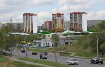 Проект комплекса жилых домов по проспекту Калашникова в Ижевске