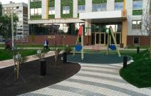 Архитектурное бюро MADE GROUP. Жилой комплекс «ECO Life» на ул. С. Лазо в Ижевске. Благоустройство придомовой территории. Фото