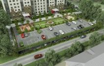 Архитектурное бюро MADE GROUP. Жилой комплекс «Английский парк» на улице Парковой в Ижевске. Визуализация