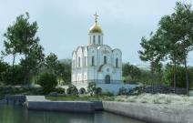 Архитектурное бюро MADE GROUP. Храм Святого Луки. Визуализация