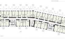 Архитектурное бюро MADE GROUP. Жилой комплекс «Пять континентов» в Октябрьском районе Ижевска. План типового этажа