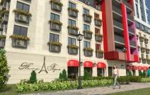 Архитектурное бюро MADE GROUP. Жилой дом «Париж» на улице Бабушкина в Ижевске. Визуализация