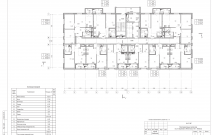 Архитектурное бюро MADE GROUP. Жилой дом «Смуглянка» на улице Баранова в Ижевске. План типового этажа