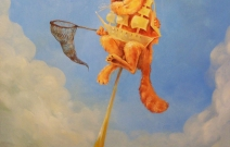 «Питерский ловчий», холст, масло